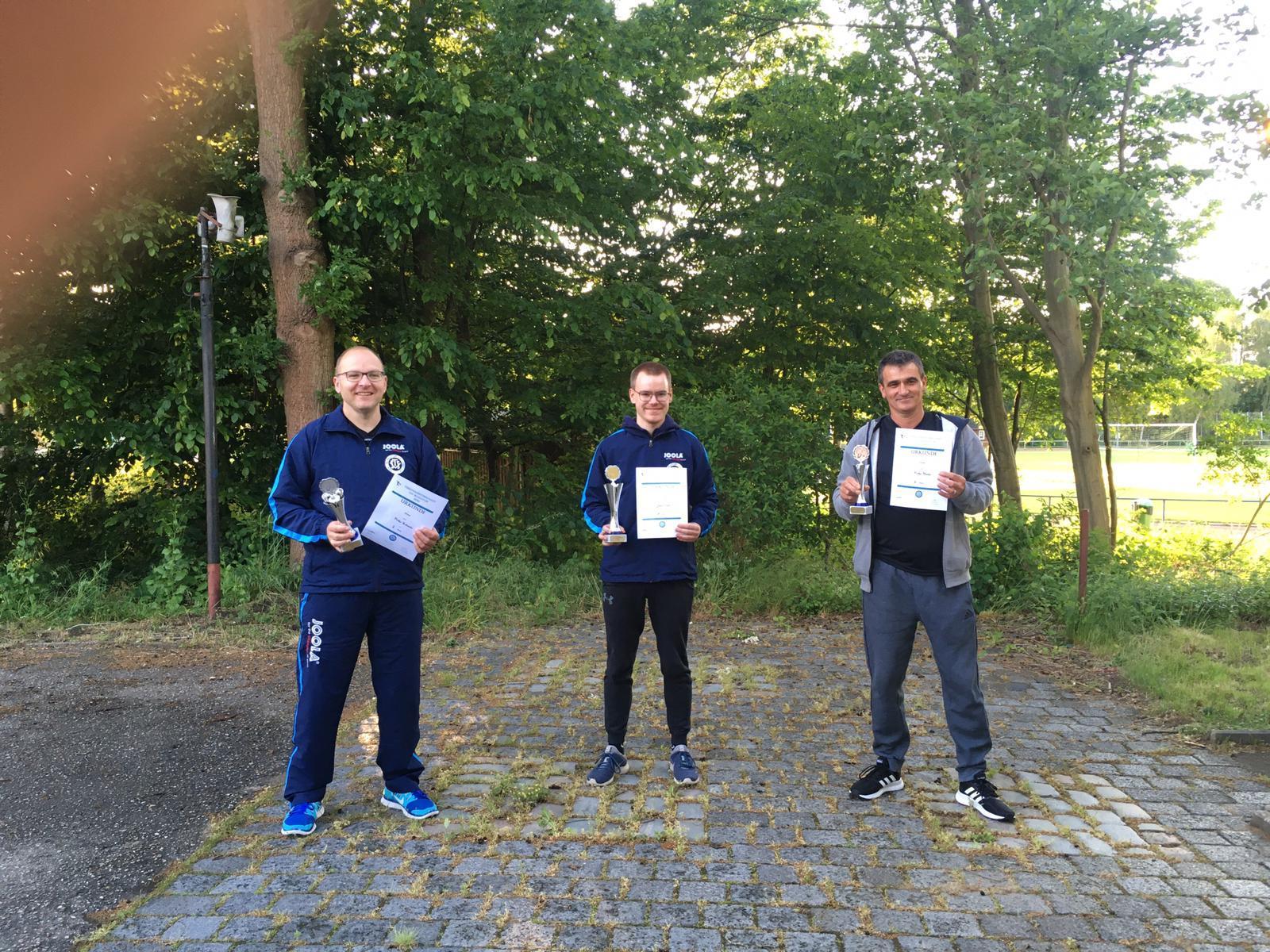 Tischtennis Vereinsmeisterschaft Senioren Einzel 2020