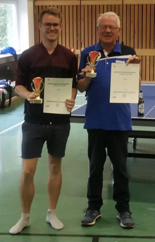 TT Vereinsmeisterschaften im Doppel